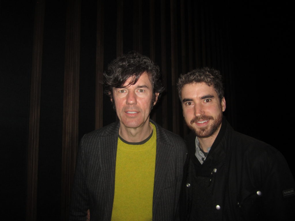 Co-Directors of The Happy Film at #HotDocs2016 Premiere Toronto Stefan Sagmeister and Ben Nabors